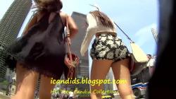 街中リア充娘を追跡スカートの中を隠し撮りwww【盗撮】の画像