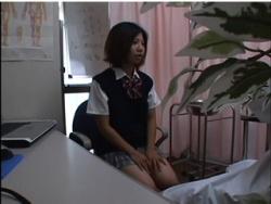 【病院】これはやばいドスケベな病院です!診察に来たデカパイ女子高生にセクハラします。の画像