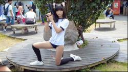 【コスプレ】ブルマと体操着の台湾コスプレイヤーがエロすぎます『Nekopara/Cosplay2021 PF34』【AnCos Studio】の画像