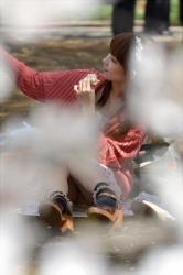 【コッソリパンチラ】コッソ~リとパンチラ姿を撮影した、けっこうシコwの画像