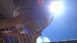 【めくりパンチラ】スカート女子が階段上がってる後ろから果敢にスカートめくって撮影したパンチラ画像(20枚)の画像