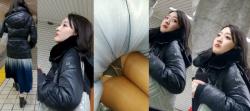 【ロングスカート逆さ撮り】超低空からカメラを突っ込んで撮影した逆さ撮りパンチラ画像(23枚)の画像