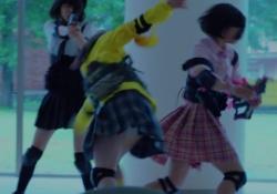 「ガールガンレディ」石井杏奈らのパンチラ連発エロすぎ!!の画像