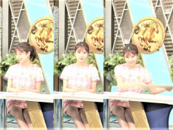 「みんなのKEIBA」で美人女子アナの堤礼実アナのパンチラが見えたと話題にの画像