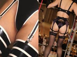 性的欲求を駆り立てられるキャンギャル・レースクイーンのエロ画像の画像
