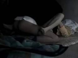 【個人撮影】寝室でいつものSEX!中年夫婦が撮影した営み映像での嫁の演技感のない喘ぎ声がエロい投稿映像の画像