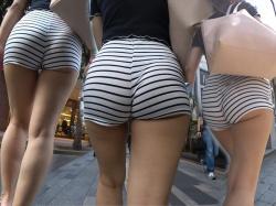 街撮り盗撮 圧巻のマル尻!!零・距離階段ヒップがマジ堪らん♪やはり女のケツは丸くてデカくてナンボでしょ!の画像