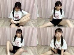 STU48田口玲佳(18)、配信でパンツモロ見え激エロハプニングwwwwwwの画像