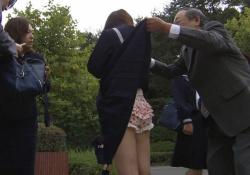 ドラマ「SPEC」女子高生のスカートめくり、パンツ丸見え連発wwwwwの画像