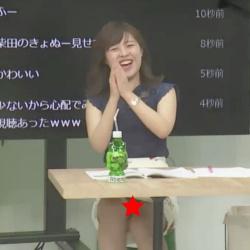 柴田紗帆アナ(27)、パンチラしまくり激エロ放送事故wwwwwwの画像