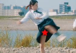 山本舞香(23)、JK空手少女役で開脚パンチラ連発エロすぎ!!の画像