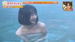 小室ゆら(24)、バスタオル温泉おっぱい入浴エロすぎ!!の画像