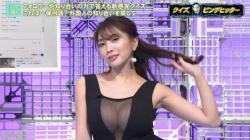 森咲智美(28)、TVでおっぱいポロリ、ニップレスはみ出し放送事故wwwwwの画像