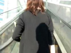 【隠撮動画】オフィス街に張り込んでお仕事ガールたちのパンチラを尾行盗撮!!の画像