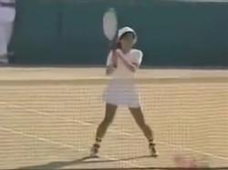 JKのテニス部を隠し撮り!青春真っ盛りの生足&アンスコの画像