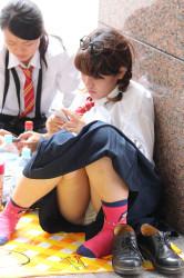 【シャッターマン】かわいい女の子のパンツの画像