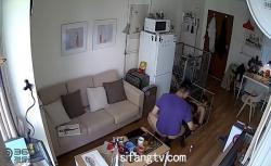 【民家盗撮動画】本格的なSMプレイを楽しむカップルの画像