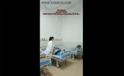 【病院盗撮動画】ガチの病院でイチャつく女医と患者の画像