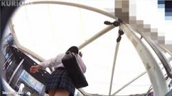【逆さ撮り盗撮】クリオネ パンチラHOLIC・08の画像