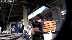【逆さ撮り盗撮】クリオネ パンチラHOLIC・25-2の画像