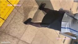 【逆さ撮り盗撮】slow woman 【絶品】魅惑のCAさんSP25☆A□Aさん徹底粘着!食い込みマンスジに大悶絶^ ^の画像