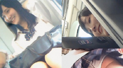 【BORMAN作品】JKちゃん抜き打ちパンツ検査 vol.9【JKパンチラ盗撮】の画像