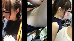 【mr.sugar作品】奇跡の超ドアップ!S級美人お姉さんのエロ過ぎる腋1【盗撮】の画像