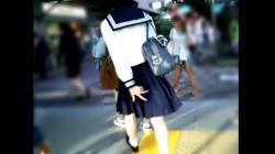 【ふくろう作品】めくり撮りパンチラ part27 プレミアム2【JKパンチラ盗撮】の画像