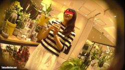 【逆さHERO作品】店員撮り43!スレンダーなお花売りのお姉さん。というかサボテン売り。【パンチラ盗撮】の画像