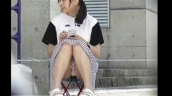 【パンチラ盗撮】【orignate-pcolle】美少女!!ミニスカでちらちら動画~Pcolle高画質Ver~の画像