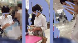 【パンチラ盗撮】【SayuMin】S11 清楚お姉さまのデパートショッピングの画像