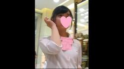【パンチラ盗撮】【ぽるにか】美形な制服Kちゃんのサテンパンツを拝見(No.3)の画像