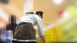 【パンチラ盗撮】【ぱんちゅ】某お土産売り場の店員編1の画像