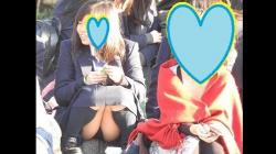 【パンチラ盗撮】【YUKI】制服姿の可愛いコを発見!!(FHD)大変です!!パンツが見えてますよ9の画像