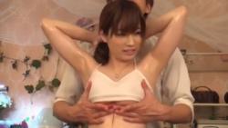 エロマッサージ師がスレンダーな巨乳美人お姉さんおっぱいやマ○コをエロマッサージしちゃいますぅ!!!の画像