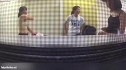 【盗撮・着替え】某女子大の運動部の部室にこっそりカメラを仕掛けて無防備に着替えをする女子大生のお姉さんを隠し撮りの画像
