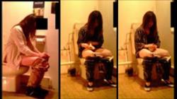 【盗撮・トイレ】某飲食店の女性用洋式トイレにカメラを仕掛けて7名の素敵なお姉さんたちがオシッコしてる様子を全身くまなく盗撮の画像