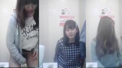 ショッピングモールのトイレで綺麗なお姉さんたちがオシッコや化粧を直してる様子を盗撮の画像