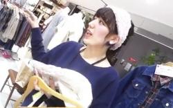 【盗撮】 ショップ店員のスカート逆さ撮り!逆さHERO 美人店員の食い込みパンツ!PornHubの画像