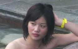 【盗撮】 露天風呂盗撮動画!みんな気になる美女の入浴!の画像