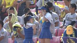 【GIF画像あり】『第101回全国高校野球大会』スタンドで応援するJKチアガールのレベルが高くて堪らん件!の画像