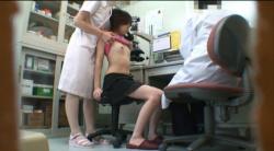 【病院盗撮エロ画像】スケベな医師が女性患者の診察を隠し撮り…様々なオッパイを堪能しよう!の画像