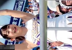 【動画】某有名大学のアイドル級チアリーダーのアンスコからのハミパンが抜けると話題にwwwの画像