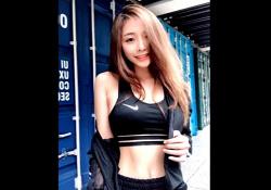 【お宝映像】台湾の超人気モデル、プライベートハメ撮り流出の画像