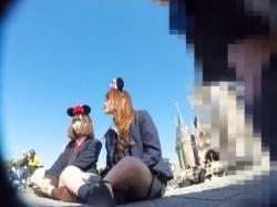 """夢の国のJKパンチラ盗撮動画で最強にエロイのって """"コレ"""" だよなwwwwwの画像"""