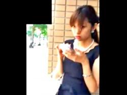 盗撮魔の声掛けに塩対応の美人ギャル、スカートめくりでお仕置きされるwww(動画あり)の画像