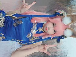 ロリ顔で乳もデカい中国のエロコスプレイヤー「雪琪SAMA」が→こちら!まさに魅惑のボディ!の画像