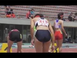 【JK陸上女子盗撮動画】現役の女子校生が参加する陸上の試合を撮影!ヘソ出しでブルマ姿やスパッツ姿のJKがいっぱい!の画像