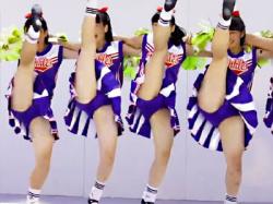 【JKチアガール盗撮動画】水戸商業高等学校チアダンス部『Blue Twinkle#8217;s』を地域イベントでパンチラ隠し撮りwwの画像