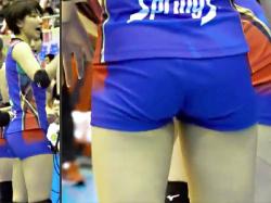 【石井優希盗撮動画】女子ワールドカップバレー2019で強烈なスパイクを何度も打つアタッカーの引き締まった美尻を隠し撮りwwの画像